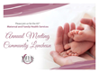 Maternal & Family Health Services Announces 43rd Annual Meeting Community Luncheon
