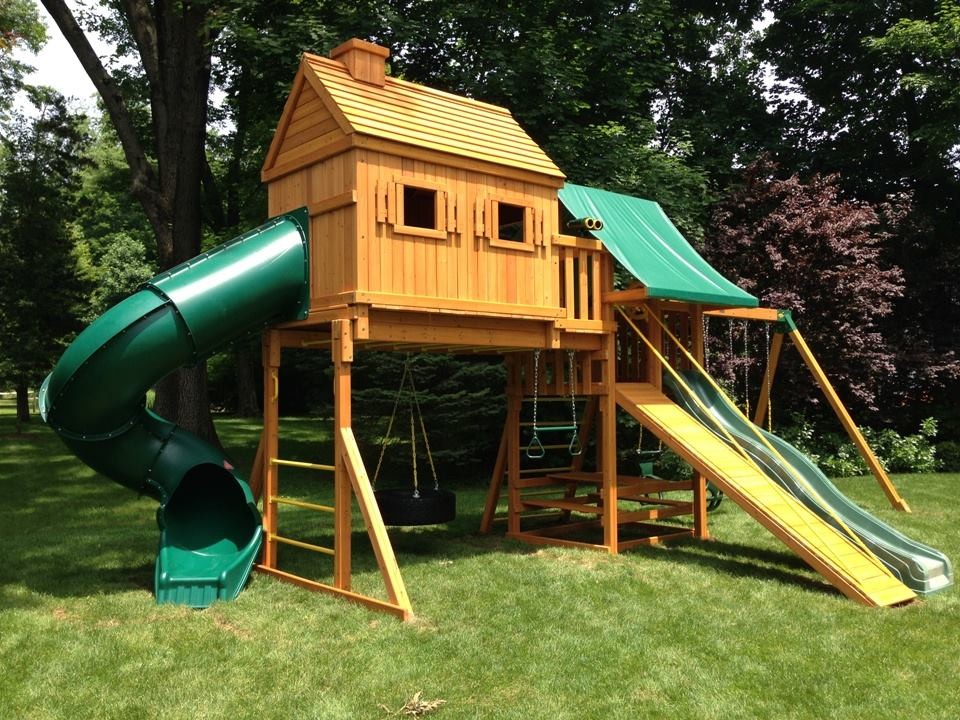 Eastern Jungle Gym To Launch New ECommerce Web Site For Swing - Backyard jungle gyms