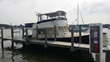 A 40 ft. Mainship Trawler decked out with Seaboard hardtop.