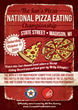 Ian's Pizza And All Pro Eating Announce Date For The Second Annual...