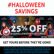 Shindigz Announced 25% Off Halloween Costumes