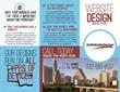 Current dsWebsiteDesign brochure