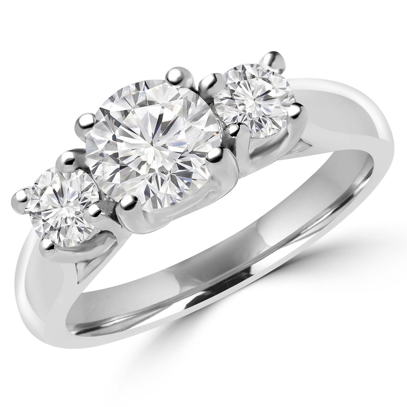 Majesty Diamonds Announces Release of Three Stone Engagement Ring