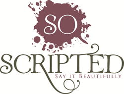 So Scripted Logo