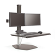 Innovative's new Winston Workstation is a freestanding sit/stand desk that gives users the opportunity to easily stand throughout their workday.