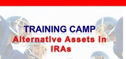 Alternative Assets Training Camp-RITA