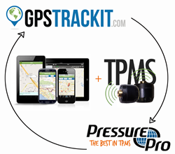 Tire Pressure Monitoring and GPS Tracking in one