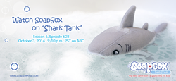 Watch Tank of SoapSox on Shark Tank's Season 6, Episode 603 on Oct. 3 at 9:00 p.m.