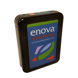 Enova Illlumination's new PP4 Digital Battery Pack easily fits in a surgical scrubs pocket, is rechargeable, and has a battery life up to 24 hours on a single charge.