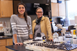 Carolyn McDermott and Dr. Melinda Coogan, BVU associate professor of biology and McDermott's research advisor