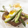 Spring Asparagus Ham and Egg Sandwich