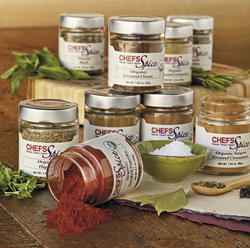 CHEFS Spice Collection: A new line of exclusive premium herbs, spices, and spice rubs and blends.