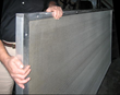Industrial AllWeather Sound Panels stop sound (STC 32) as well as absorb it (NRC 1.00)