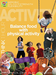 Physical Activity Poster from Learning ZoneXpress