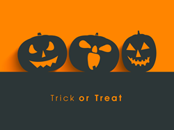 Shop RTO recommends homemade decorations for Halloween.