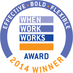 When Work Works Award- 2014 Winner