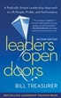 "Treasurer Releases Second Edition of Best-Selling Book ""Leaders Open..."