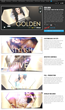 Pixel Film Studios Announced Today the Release of the Golden Theme for...