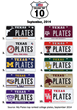 MyPlates.com Top 10 College Plates Ranking September 2014. My Plates...