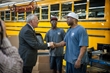 Governor Deal meets with Blue Bird employees