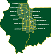 13 Locations In Illinois And Indiana