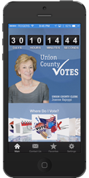 Union County New Jersey Election App