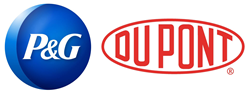 Procter & Gamble and DuPont Logos