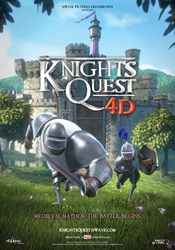 Knights Quest 4D - Poster