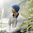CK1080 SOLID KNIT BEANIE