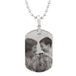 Stainless Steel Dog Tag by PhotoScribe