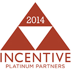 Incentive Magazine's Platinum Partner Award
