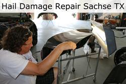 Hail Damage Repair - Paintless Dent Repair in Sachse TX