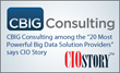 CBIG Consulting Named Among Top 20 Most Powerful Big Data Firms
