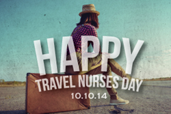 Medical Solutions Celebrates Travel Nurses Day 2014