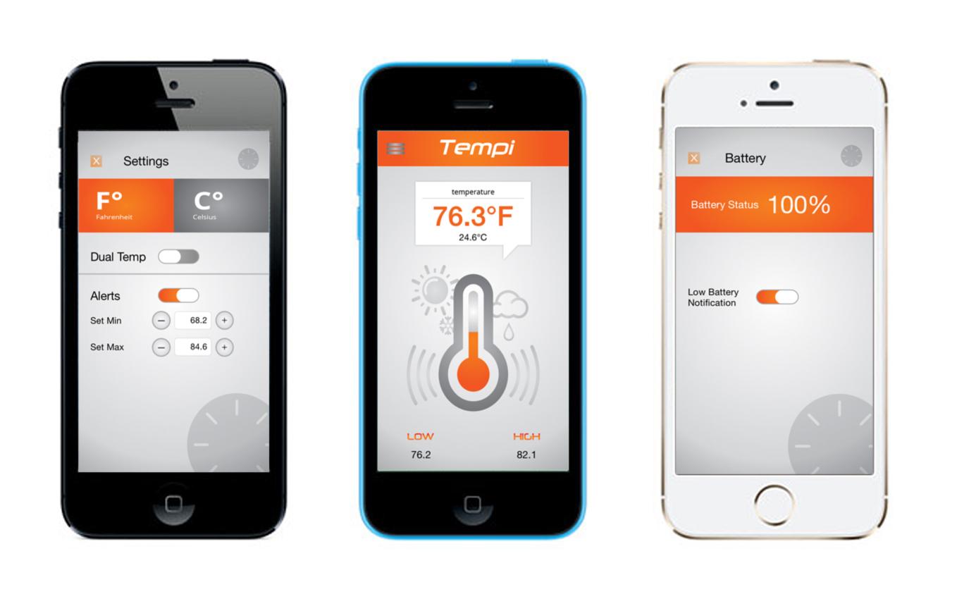 Can Iphone Read Temperature
