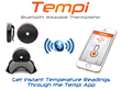 The Smart Wearable Thermometer for Mobile Devices