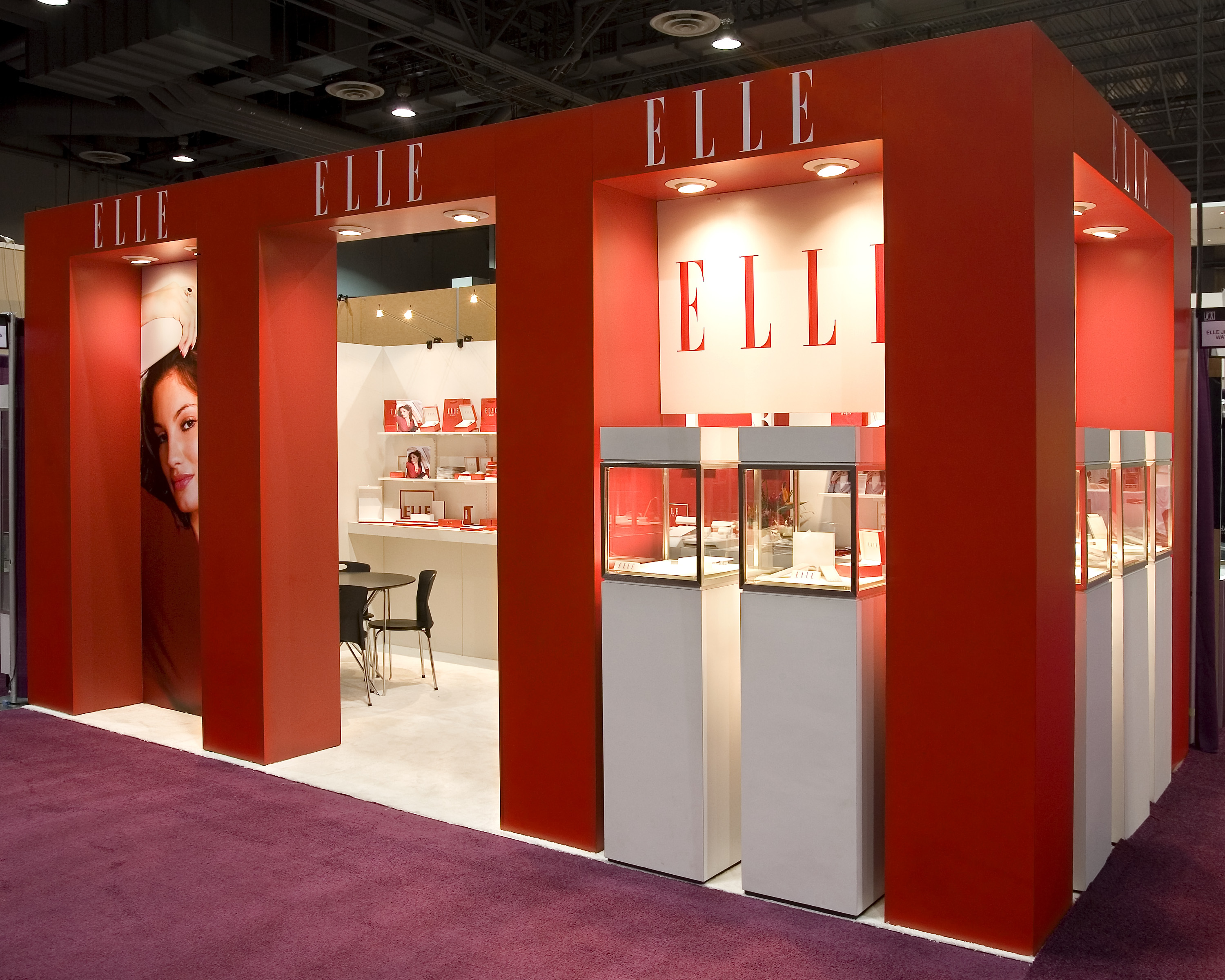 Jewelry Exhibition Booth Design : Xibit solutions wins trade show booth design award at