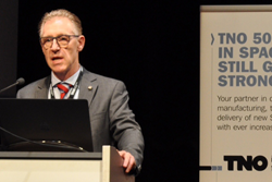 A session celebrating the 50th anniversary of TNO was opened by Henri Werij, Director of Innovation Space.