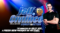 Jeff Civillico secures summer residency at Flamingo Las Vegas