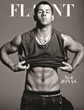 Nick Jonas wears jewelry and not much else on Flaunt's sexy cover...