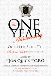 Bedford Hall | One-Year Anniversary