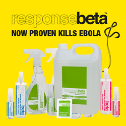 ResponseBeta Hand & Surface Sanitizer Kills Ebola