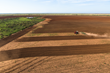 Tilling Farmland on Waggoner Ranch