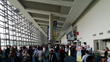 A view of the many attendees on the show floor