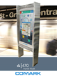 Comark will be Featuring the Rugged TK470 Public Transit Kiosk at the...