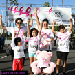 Giant Teddy Susan G. Komen Orange County Lulu Shags