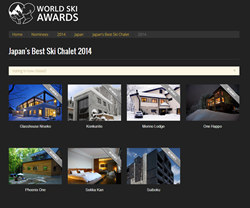 world ski awards - japan's best ski chalet