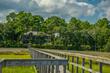 Florida real estate auction Fernandina Beach riverfront mansion