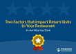 Rewards Network®  Releases Report: Two Factors that Impact Return...