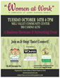 """Living Well Assisted Living At Home will participate in the """"Women at Work Business Showcase"""""""